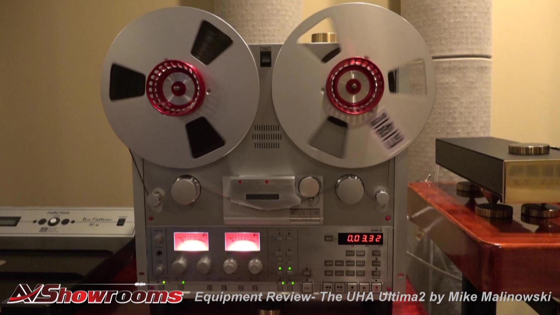 United Home Audio UHA Reel to Reel Deck