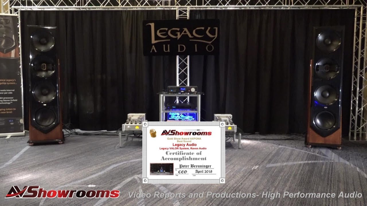 Legacy Audio Showcase