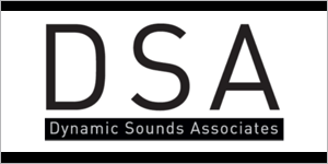 DSA Dynamic Sounds Associates logo