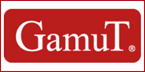Gamut Loudspeakers and Electronics logo