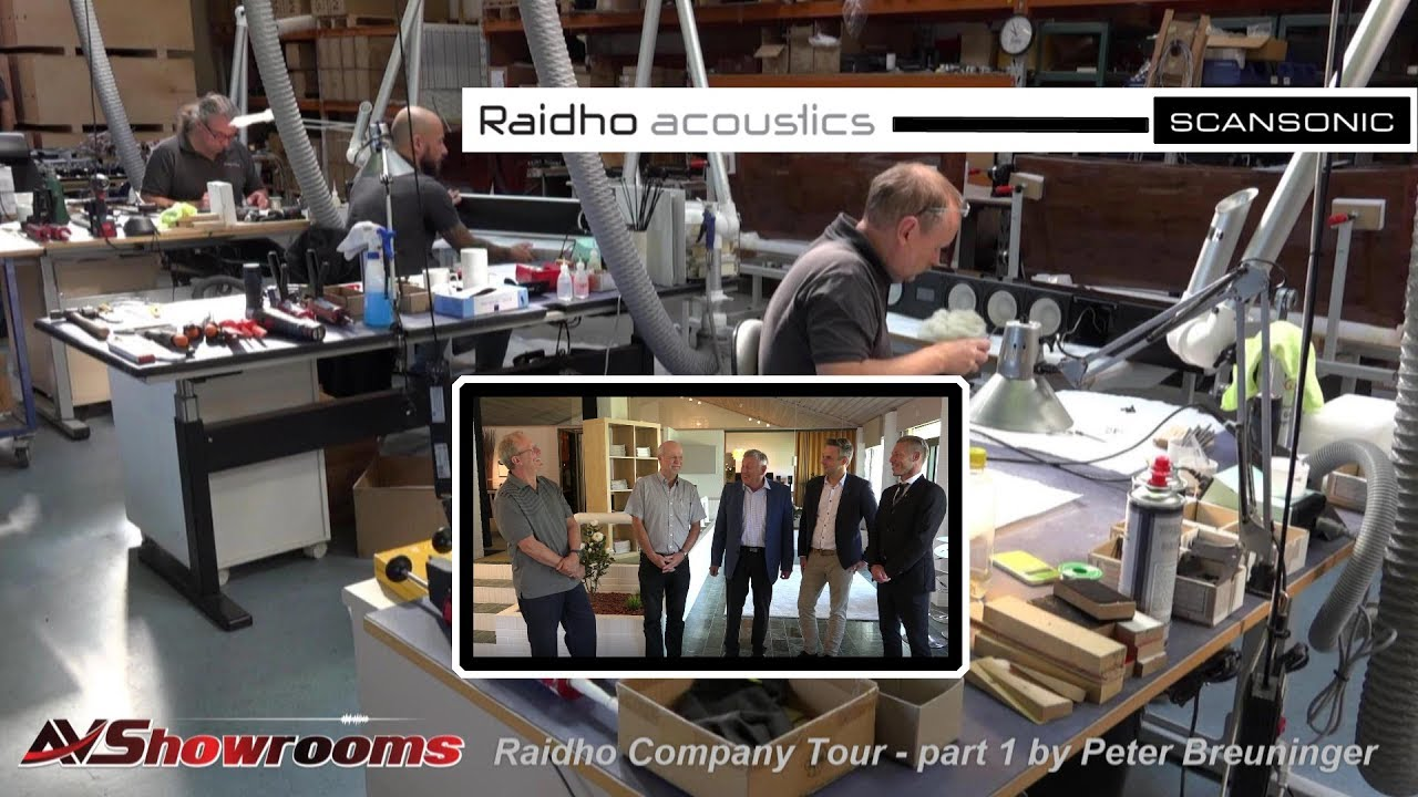 Raidho Acoustics Company Tour