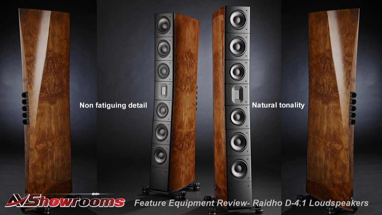 Raidho Acoustics D-4.1 Loudspeaker Review