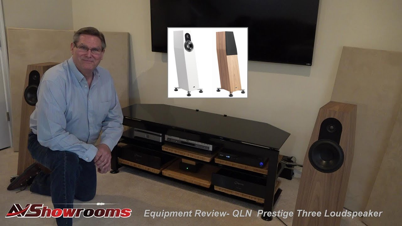 QLN Prestige Three Loudspeaker review