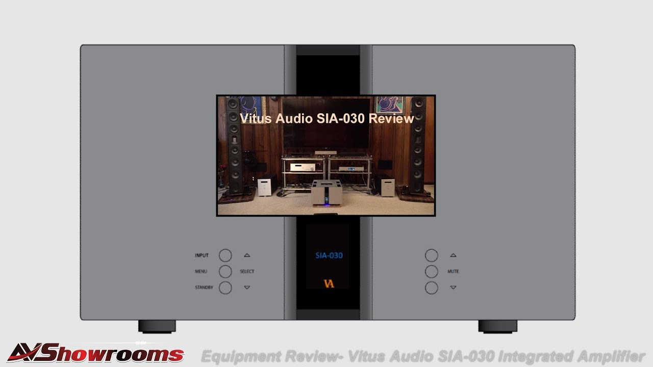 Vitus Audio SIA-030 Integrated Amplifier Review