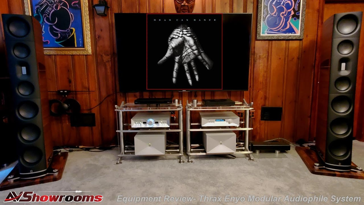 Thrax Reference Separates: Dionysis Linestage, Maximinus DAC, Teres Amplifiers